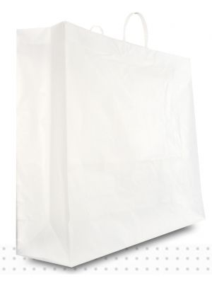 Plastic Carry Bags JUMBO Frosted HD