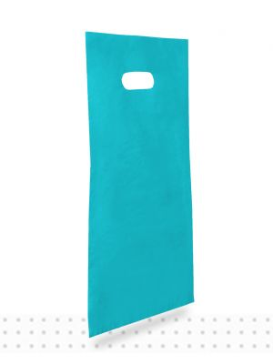 Plastic Carrier Bags SMALL Blue HD