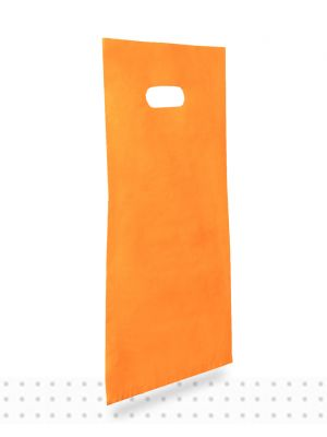 Plastic Carrier Bags SMALL Orange HD