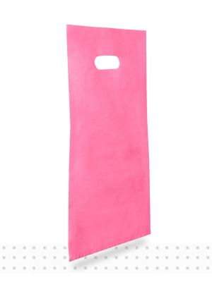 Plastic Carrier Bags SMALL Pink HD