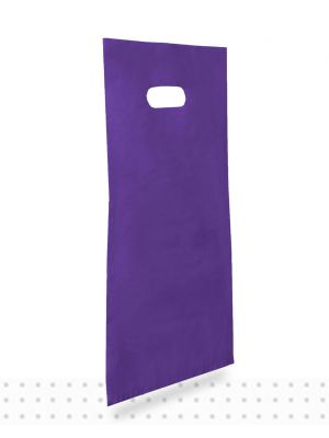 Plastic Carrier Bags SMALL Purple HD