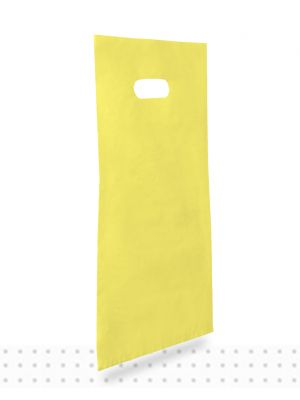 Plastic Carrier Bags SMALL Yellow HD