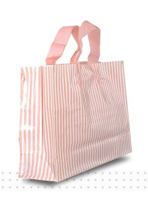 SMALL Pink Stripes HD 250/ctn 250x350x110