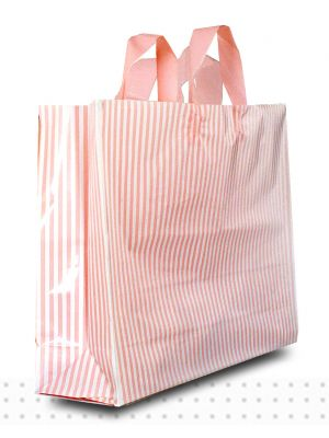 LARGE Pink Stripes HD 250/ctn 350x450x120