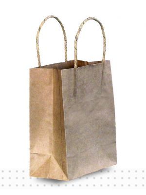 Brown Paper Bags TINY Regular