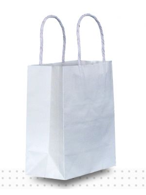 White Paper Bags TINY Regular