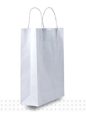 White Paper Bags SMALL Regular
