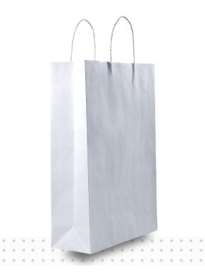 White Paper Bags MIDI Regular