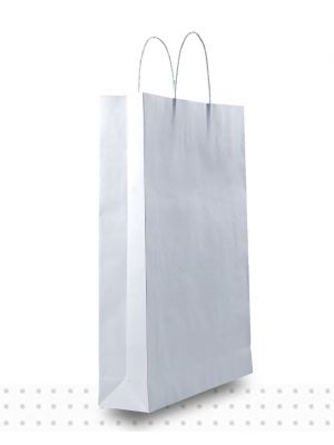 White Paper Bags MEDIUM Regular