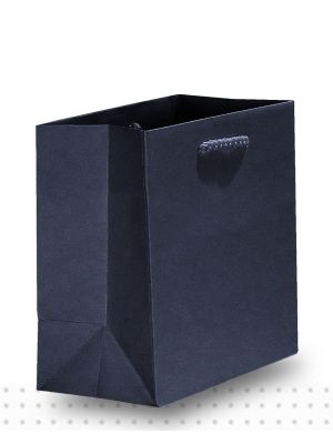 Gift Bags TINY Matte Black Deluxe