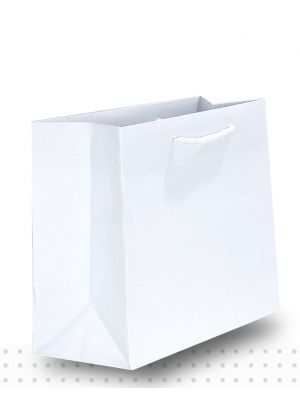 Gift Bags SMALL Matte White Deluxe