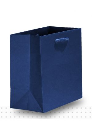 Gift Bags TINY Matte Navy Deluxe