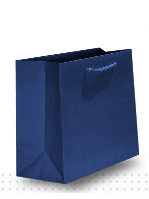 Gift Bags SMALL Matte Navy Deluxe