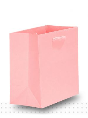 Gift Bags TINY Matte Pale Pink Deluxe