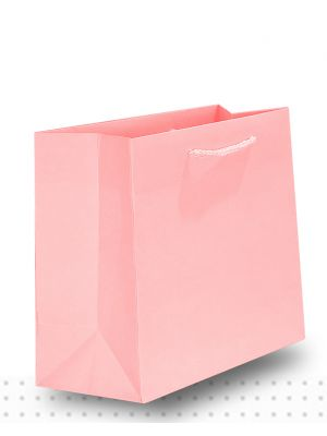 Gift Bags SMALL Matte Pale Pink Deluxe