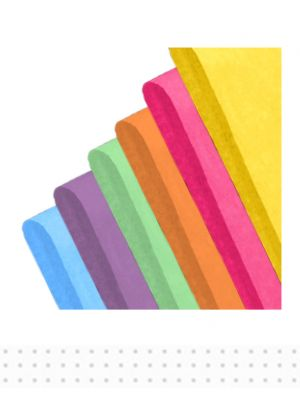 TISSUE Rainbow 480pcs 500x760