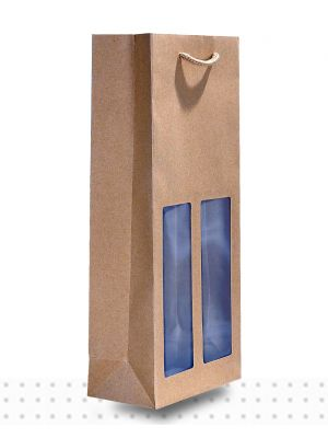 Wine Bags DBLE Window Deluxe
