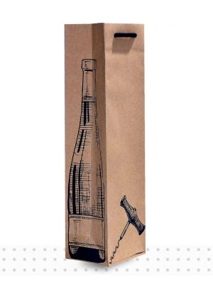 Wine Bags SGLE Cork Screw Deluxe