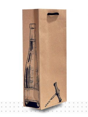 Wine Bags DBLE Cork Screw Deluxe