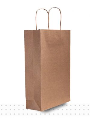 Wine Bags TPLE Brown Regular